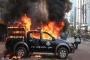 BNP activists, police clash at Naya Paltan, Several vehicles vandalised