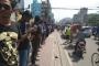 Students form human chain on Progati Sarani