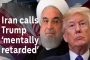 Iran calls White House 'mentally retarded'