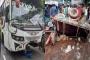 6 killed as bus hits human hauler in Chuadanga
